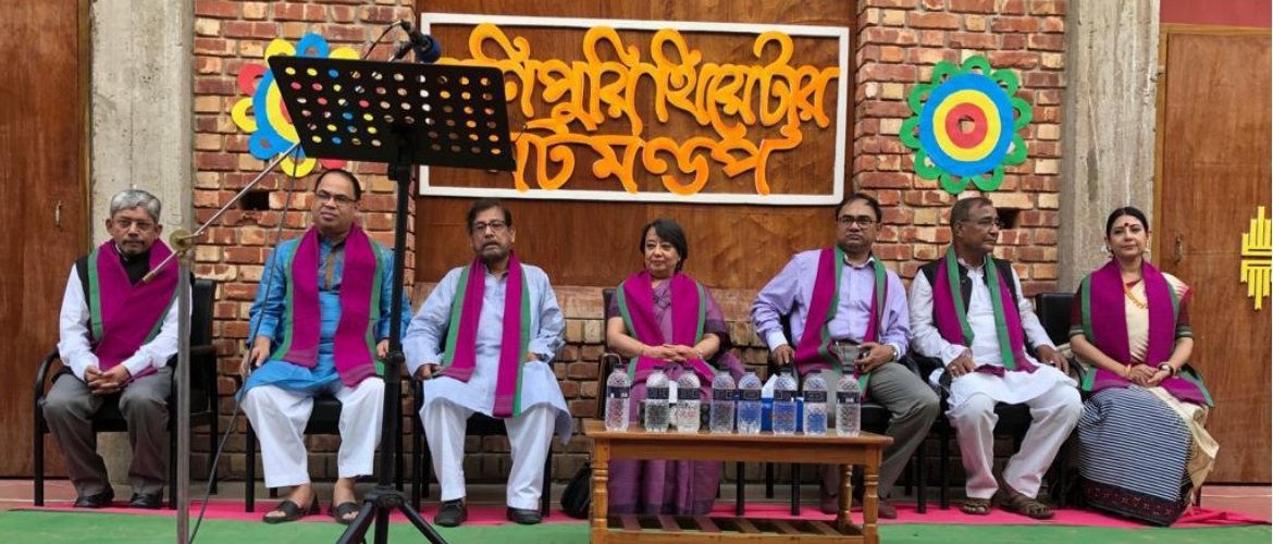26 April 2019 Inauguration of Manipuri Theatre at Ghoramara Moulvibazar by HE Mrs Riva Ganguly Das High Commissioner