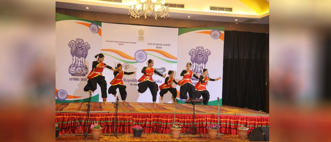 Dance performance at a reception to celebrate 71st Republic Day on 26 Jan 2020
