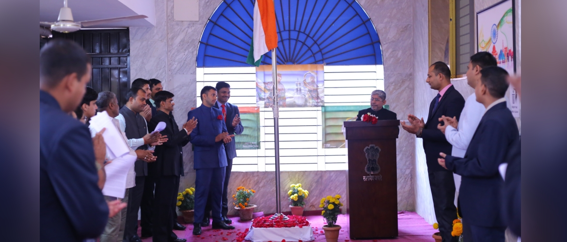 Flag Hoisting Ceremony at AHCI, Sylhet on the occasion of 70th Republic Day of India